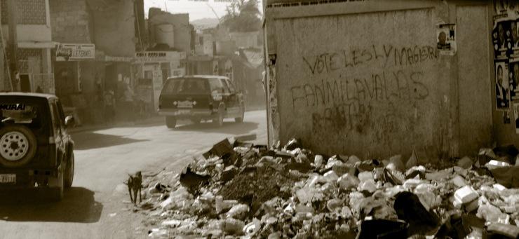 Grafitti in Tabarre, Port au Prince
