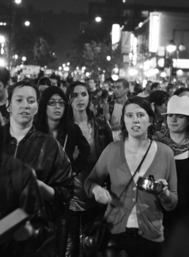 Montreal saw marches every night for 50 days during the Printemps Erable.