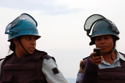UN peacekeepers in Eastern DRC