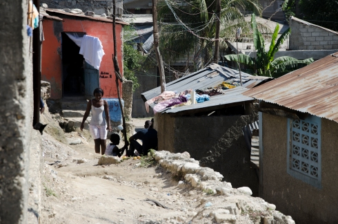 Haiti's poorest citizens struggled in the aftermath of the earthquake.