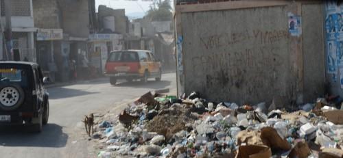 Downtown Port au Prince, Haiti.