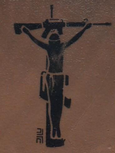 Graffiti in Bogota, Colombia.